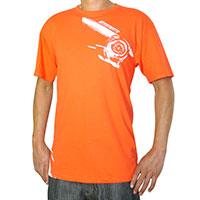 Mishimoto Temperature Gauge T-Shirt, Orange X-Large