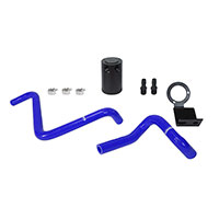 Mishimoto Subaru BRZ / Scion FR-S Baffled Oil Catch Can, PCV Side, 2013+ Blue Hoses