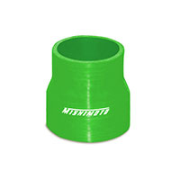 "Mishimoto 2.25"" to 2.5"" Silicone Transition Coupler, Various Colors Green"