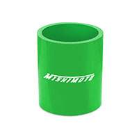 "Mishimoto 2.25"" Straight Coupler, Various Colors Green"