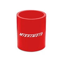 "Mishimoto 2.25"" Straight Coupler, Various Colors Red"
