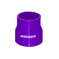 "Mishimoto 2.5"" to 2.75"" Silicone Transition Coupler, Black Purple"