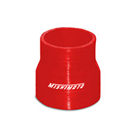 "Mishimoto 2.5"" to 2.75"" Silicone Transition Coupler, Black Red"