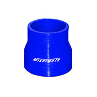 "Mishimoto 2.5"" to 3"" Silicone Transition Coupler, Various Colors Blue"