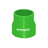 "Mishimoto 2.5"" to 3"" Silicone Transition Coupler, Various Colors Green"