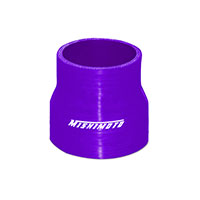"Mishimoto 2.5"" to 3"" Silicone Transition Coupler, Various Colors Purple"