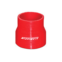 "Mishimoto 2.5"" to 3"" Silicone Transition Coupler, Various Colors Red"