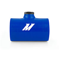 "Mishimoto Silicone Coupler, 2.5"" w/ 1/8"" NPT Bung Blue"
