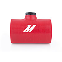 "Mishimoto Silicone Coupler, 2.5"" w/ 1/8"" NPT Bung Red"