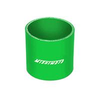 "Mishimoto 2.5"" Straight Coupler, Black Green"