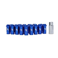 Mishimoto Aluminum Locking Lug Nuts, M12 x 1.25 Blue