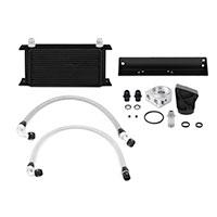 Mishimoto Hyundai Genesis Coupe 3.8L Oil Cooler Kit, 2010-2012 Black Non-Thermostatic