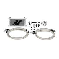 Mishimoto Subaru WRX STI Oil Cooler Kit, 2008–2014 Silver Non-Thermostatic