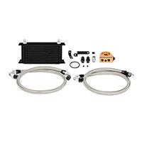 Mishimoto Subaru WRX STI Oil Cooler Kit, 2008–2014 Black Thermostatic