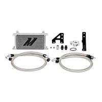 Mishimoto Subaru STI Oil Cooler Kit, 2015+ Silver