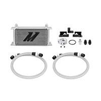 Mishimoto Jeep Wrangler JK Oil Cooler Kit, 2007–2011 Silver