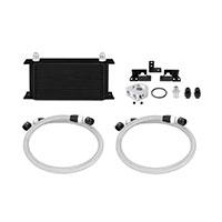 Mishimoto Jeep Wrangler JK Oil Cooler Kit, 2007–2011 Black