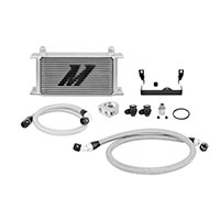 Mishimoto Subaru WRX/STI Oil Cooler Kit, 2006-2007 Silver Non-Thermostatic