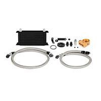 Mishimoto Subaru WRX/STI Oil Cooler Kit, 2006-2007 Black Thermostatic
