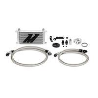 Mishimoto Subaru WRX Oil Cooler Kit, 2008–2014 Silver Non-Thermostatic