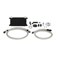 Mishimoto Subaru WRX Oil Cooler Kit, 2008–2014 Black Non-Thermostatic
