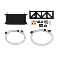 Mishimoto Subaru WRX Oil Cooler Kit, 2008–2014 Black Thermostatic