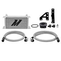 Mishimoto Subaru WRX Oil Cooler Kit, 2015+ Silver