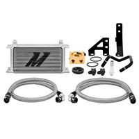 Mishimoto Subaru WRX Thermostatic Oil Cooler Kit, 2015+ Silver