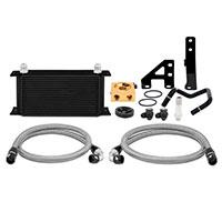Mishimoto Subaru WRX Thermostatic Oil Cooler Kit, 2015+ Black