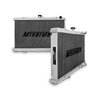 "Mishimoto 19.6"" x 26.3"" Single Pass 2-Row Race Aluminum Radiator"