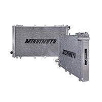 "Mishimoto 17.9"" x 30.86"" Single Pass 2-Row Race Aluminum Radiator"