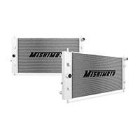 "Mishimoto 16.99"" x 33.07"" Single Pass 2-Row Race Aluminum Radiator"