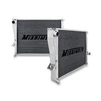 "Mishimoto 18.43"" x 25.71"" Single Pass 2-Row Race Aluminum Radiator"