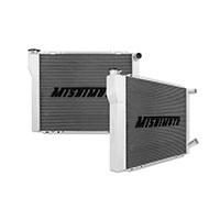 """Mishimoto 19.0"""" x 27.0"""" Dual Pass 2-Row Race Aluminum Radiator"""