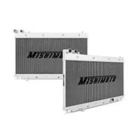 "Mishimoto 17.5"" x 26.5"" Single Pass 2-Row Race Aluminum Radiator"