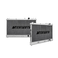 "Mishimoto 16.4"" x 24.8"" Single Pass 2-Row Race Aluminum Radiator"