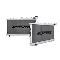"Mishimoto 17.2"" x 26.4"" Single Pass 2-Row Race Aluminum Radiator"