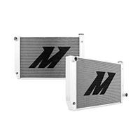"Mishimoto 19.5"" x 31.9"" Single Pass 2-Row Race Aluminum Radiator"