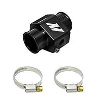 Mishimoto Water Temperature Sensor Adapter - 30mm - Black, Silver, Gold Black
