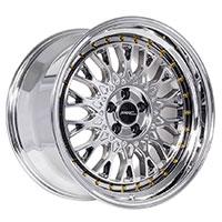 MRR AR1  Wheel Rim 17x8.5 5x100 ET30  73.1 Platinum Gold Rivets