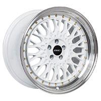 MRR AR1  Wheel Rim 17x8.5 5x100 ET30  73.1 White Gold Rivets