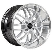 MRR AR3  Wheel Rim 16x8.5 4x100 ET20  73.1 Silver Polished Lip