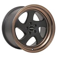 MRR AR5  Wheel Rim 17x8.5 5x100 ET30  73.1 Matte Black bronze Lip