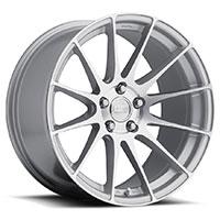 MRR GF6  Wheel Rim 19x10.5 5x100/ 5x112 ET15  66.6 Machined Silver
