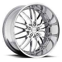 MRR GT1  Wheel Rim 18x8.5 5x100/ 5x112 ET20  66.6 Chrome