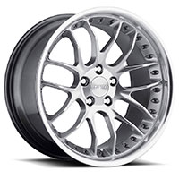 MRR GT7  Wheel Rim 18x8.5 5x120 ET35  72.6 Hyper Silver Machined Lip