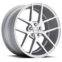MRR GT9  Wheel Rim 19x8.5 5x100/ 5x112 ET20  66.6 Machined Silver