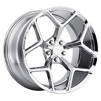 MRR M228  Wheel Rim 20x9 5x120 ET35  66.9 Polished