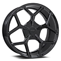 MRR T228  Wheel Rim 22x10 6x135/ 6x139.7 ET30  87.1 Gloss Black