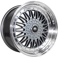 MST MT13 Wheel Rim 18x9 5x100 ET35 73.1 Gunmetal w/Machined Lip